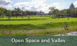 Hiroba (Open Space) and Taniai (Valley)