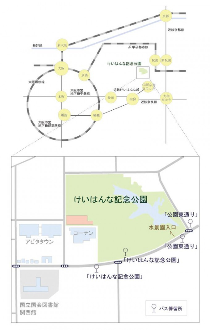 路線図・周辺図